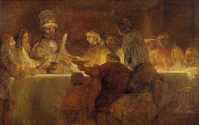 De samenzwering van Claudius Civilus - Rembrandt van Rijn