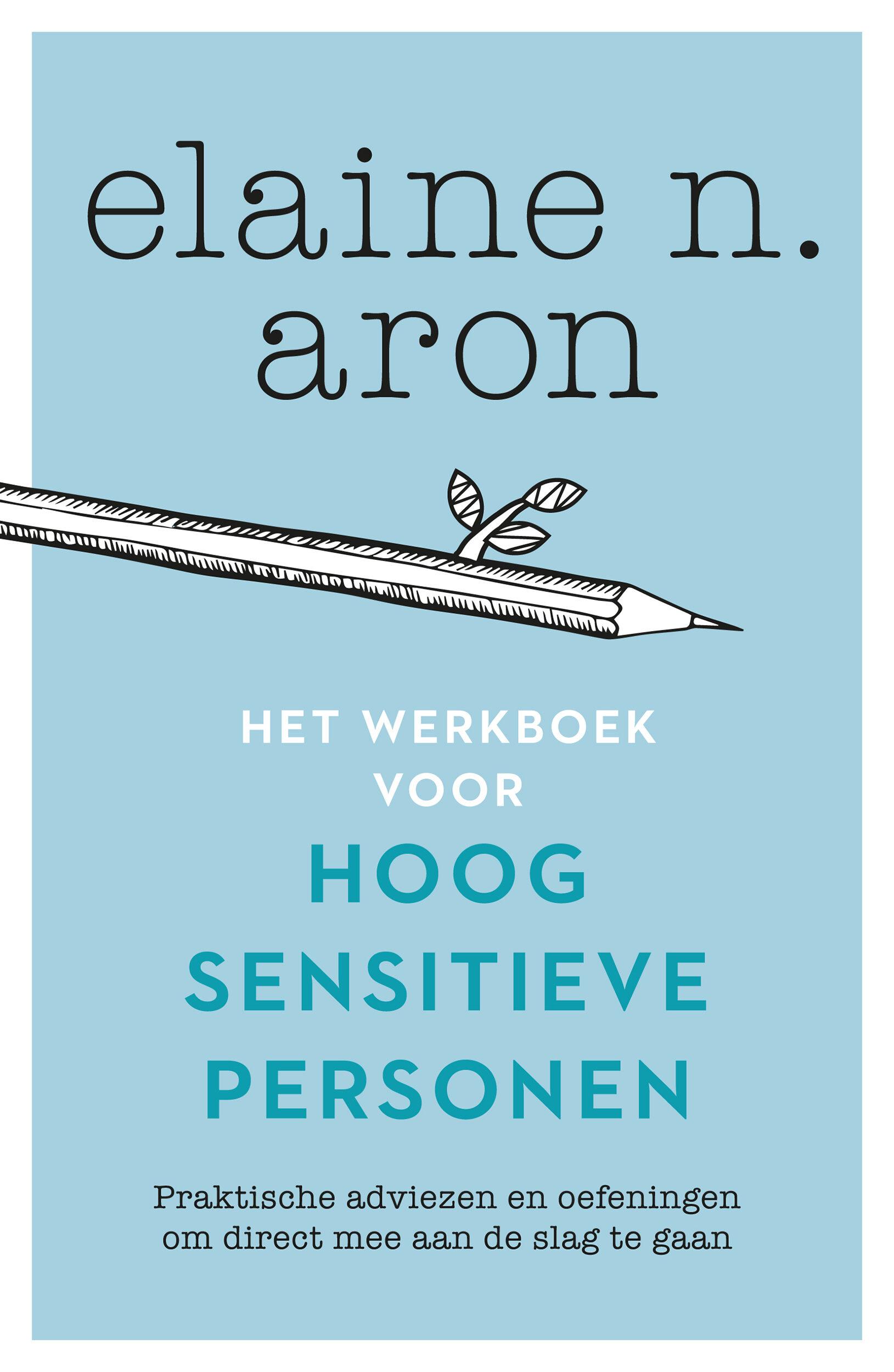Omslag het werkboek voor hoog sensitieve personen