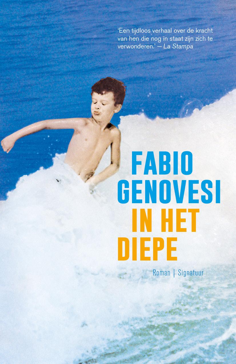 Omslag In het diepe van Fabio Genovesi
