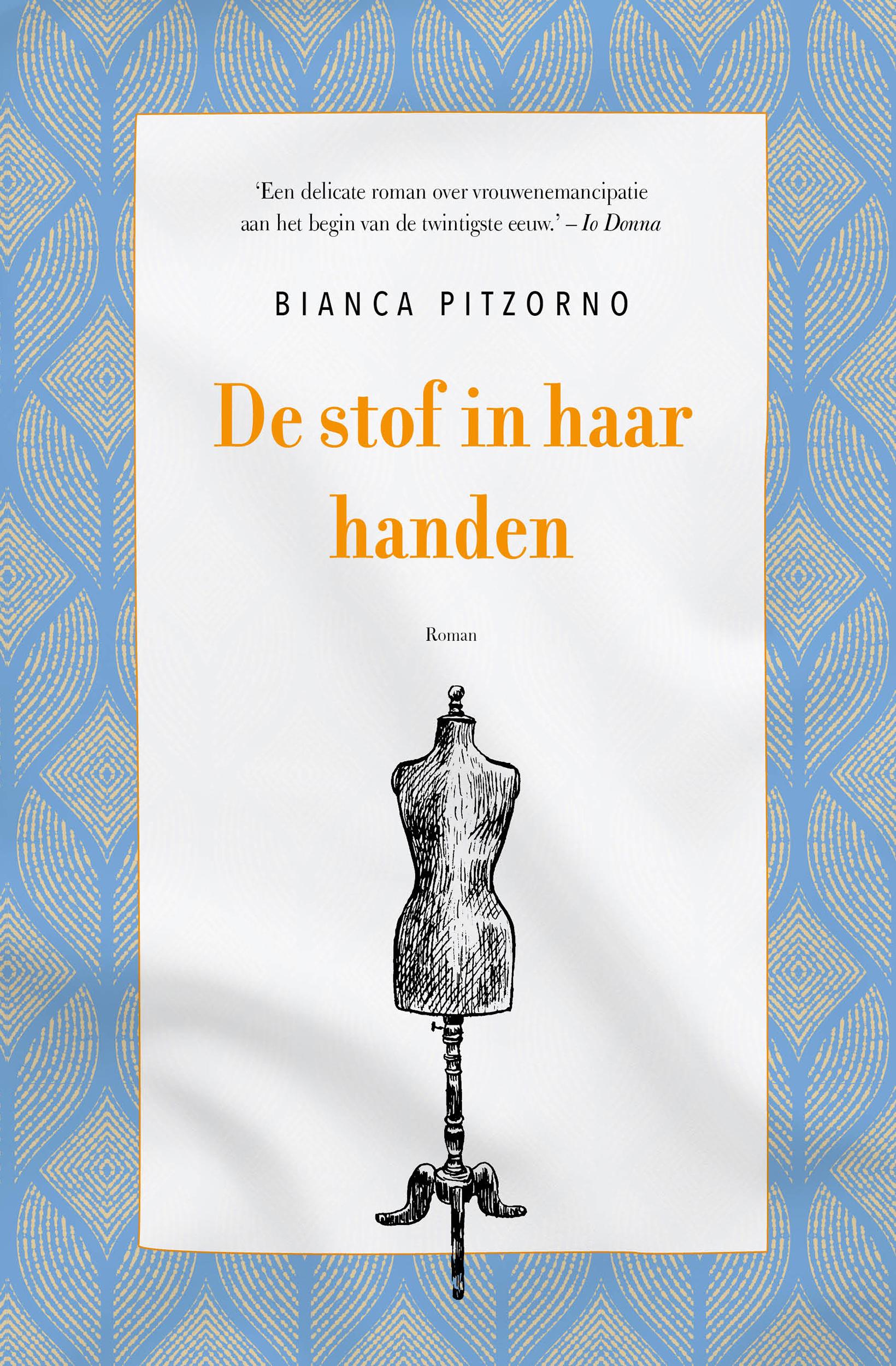 Omslag De stof in haar handen van Bianca Pitzorno