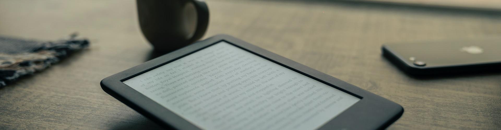 Digitaal lezen ebook op ereader
